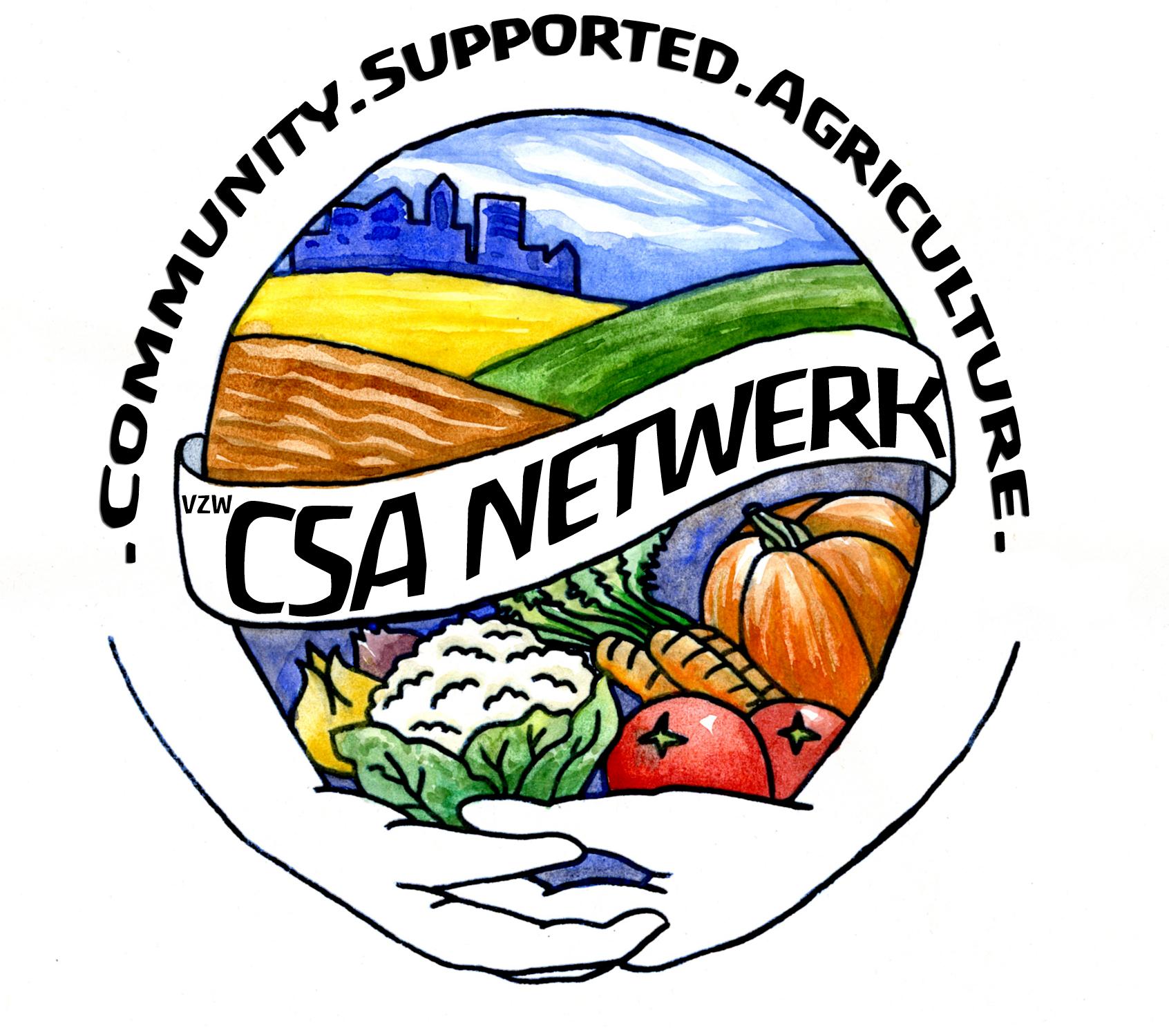 CSA-netwerk logo finaal