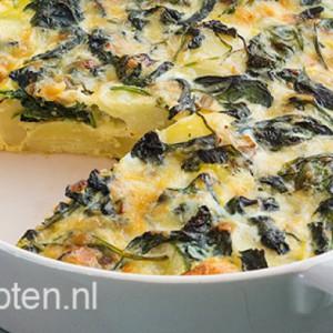 aardappeltortilla-met-spinazie