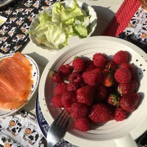 kleinfruit ontbijt bij Katy