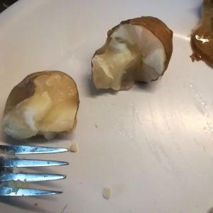 kleine knollen zijn snel gaar gekookt of gestoomd!