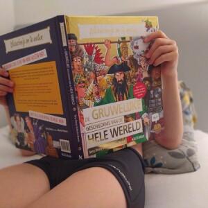 vakantie met boek